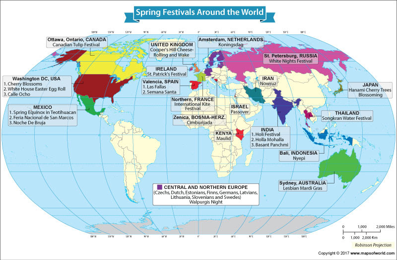 Spring Festivals Celebrated Around The World Our World