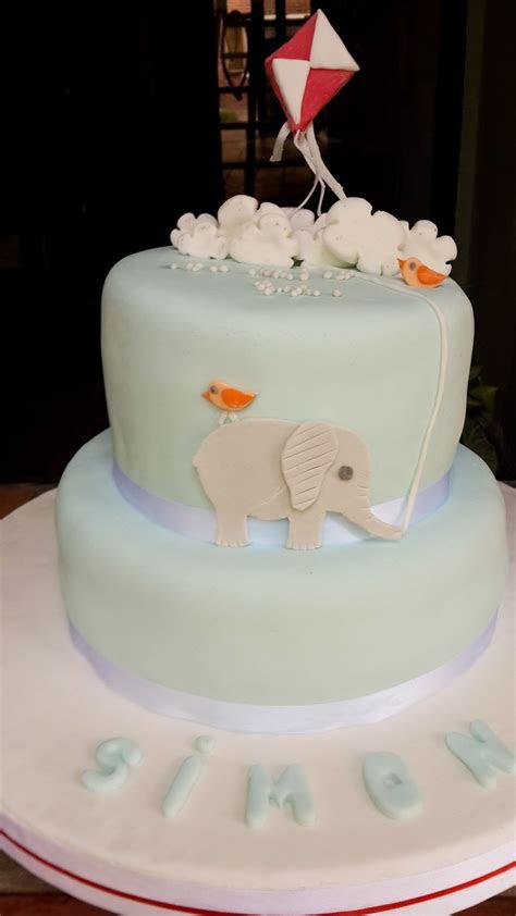 torta deco elefantito  barrilete torta de cumple