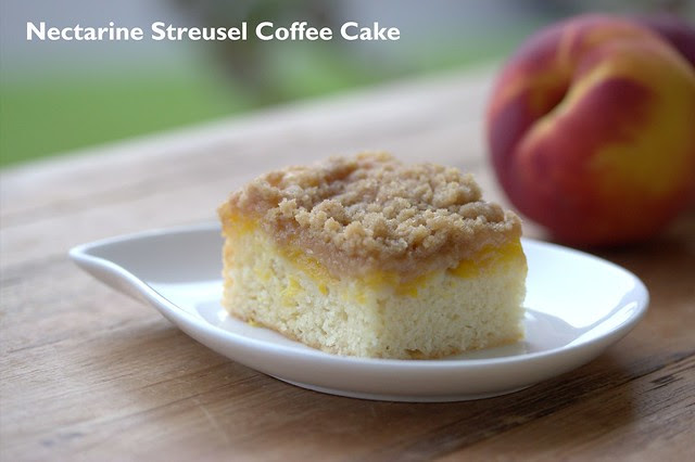 Nectarine Streusel Coffee Cake - Williams Sonoma