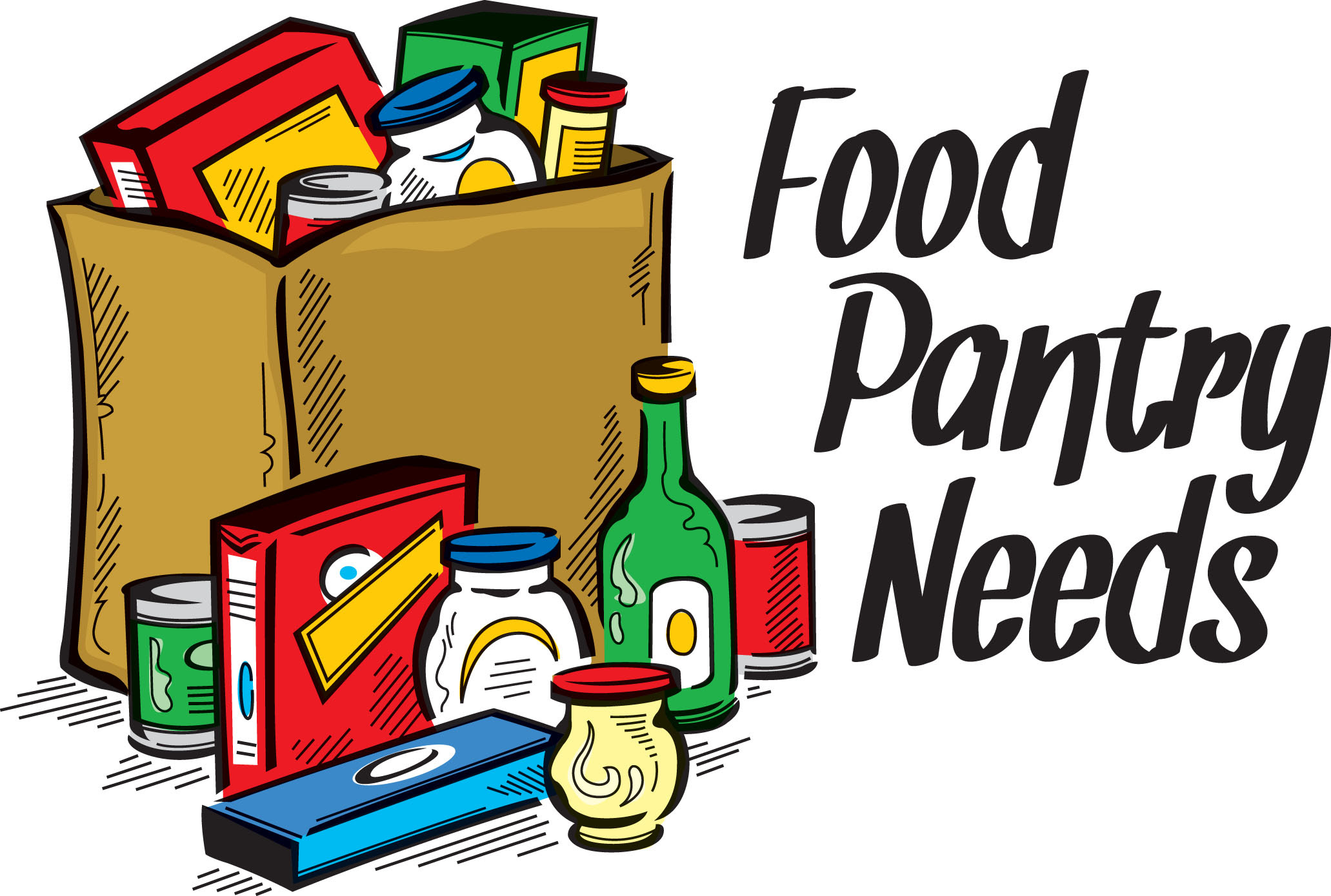 Clip Art Food Bank Donations