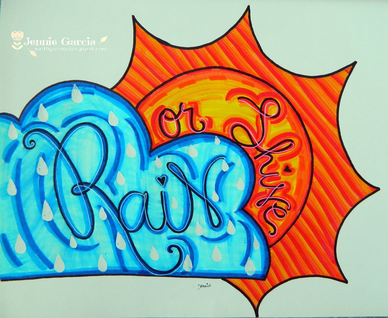 Lettering Quotes By Jennie Garcia Tombow Usa Blog