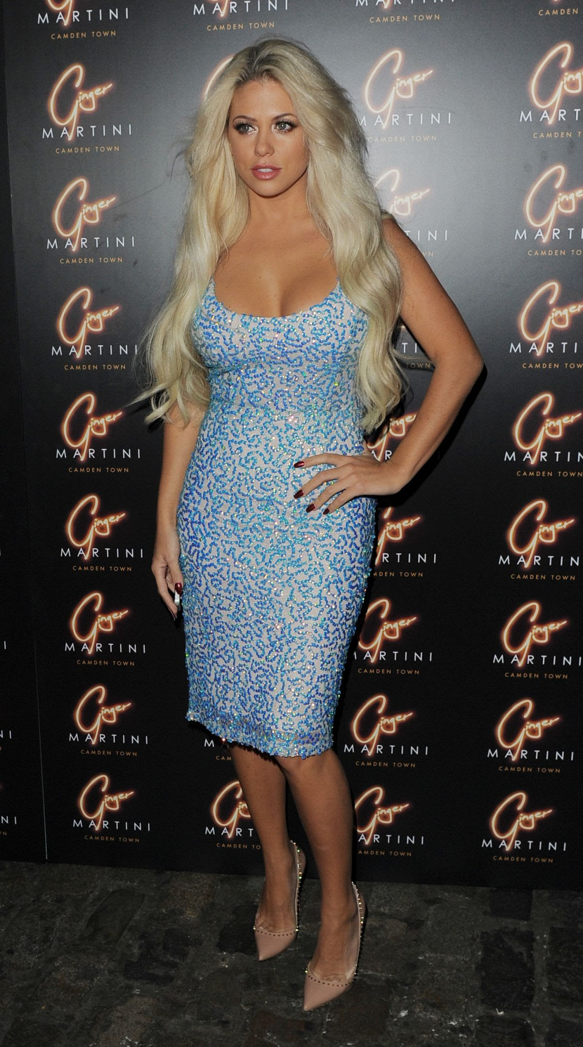 BIANCA GASCOIGNE at Ginger Martini VIP Launch Party in London 10/15/2015