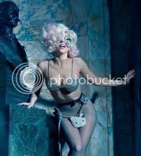 Lady Gaga in Hello Kitty Photoshoot