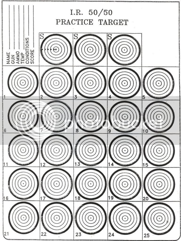 Download IR 50/50 Targets for your printer - Takdriver