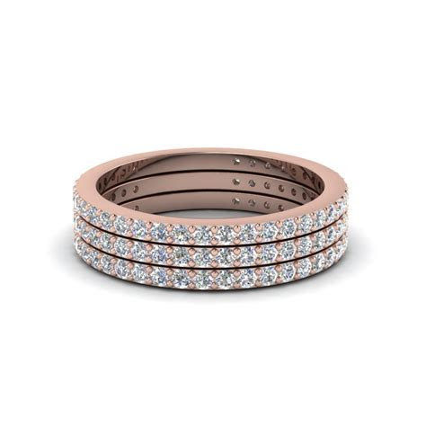 Rose Gold Stackable Rings & Bands   Fascinating Diamonds
