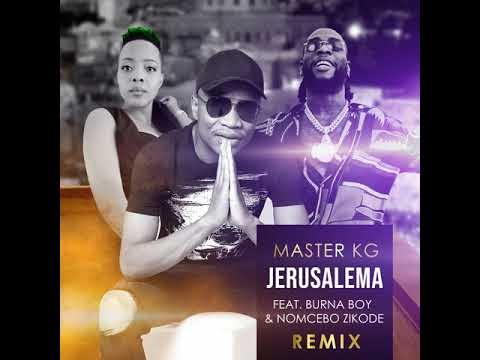 Nigerians react as Burna boy adds icing to Master KG and Nomcebo Jerusalema remix