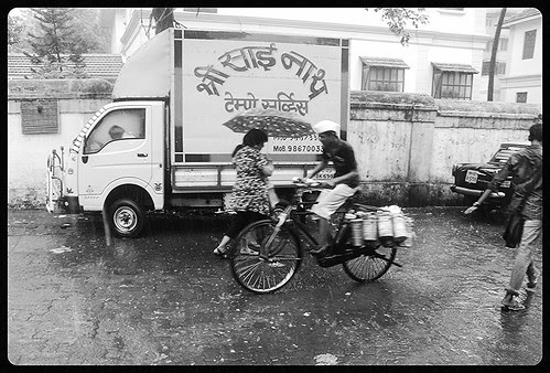 Dabbawalas in the Rains by firoze shakir photographerno1