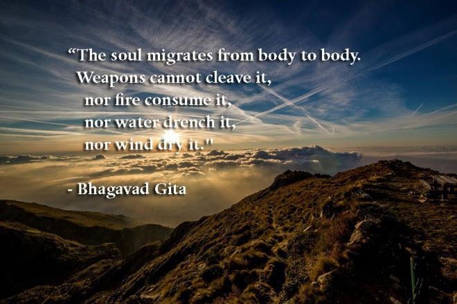 Death Bhagavad Gita Write Spirit