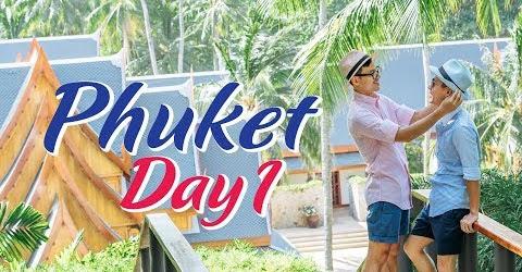 Hành trình Phuket ngày đầu tiên.