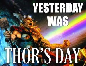 Asal perkataan Thuesday merujuk kepada Dewa Thor
