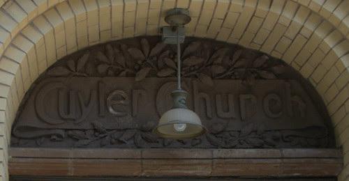 Detail, Cuyler Church, 358 Pacific Street, Boerum Hill, Brooklyn