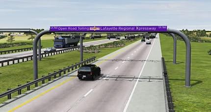 Lafayette Regional Expressway Rendering