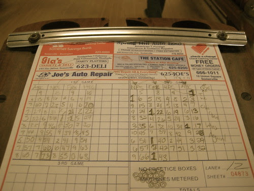Bowl Haven makes you keep score by hand.