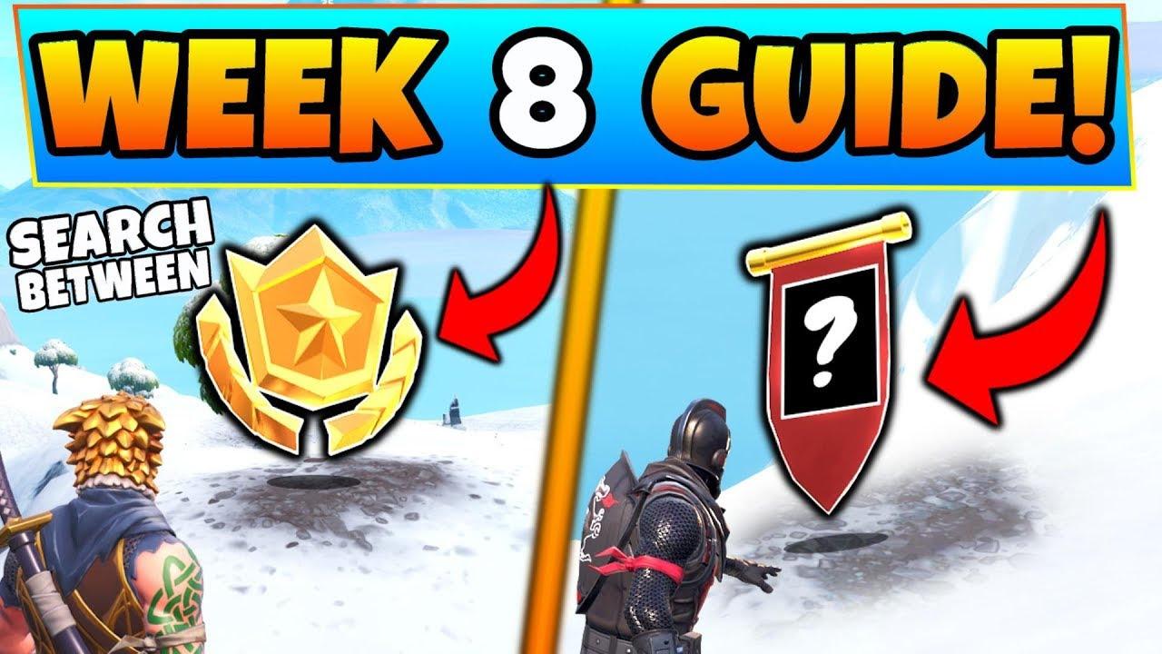 Week 8 - fortnite week 8 challenges mysterious hatch star secret banner battle royale season 7 guide prosmotry 1 051 661 ot thellamasir