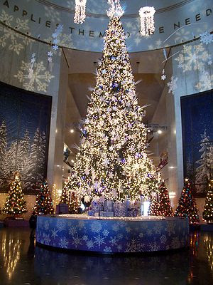 The Christmas Around the World exhibit in the ...