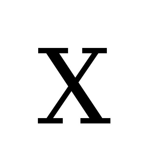 DejaVu Serif, Book - Ⅹ