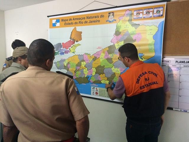 SEDEC-RJ prepara oficiais do CBMERJ para apoiarem os planos de contingência municipais de Defesa Civil