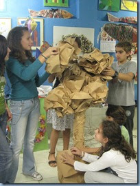 Comenius - Greece -- Tree Structure -- Art Class