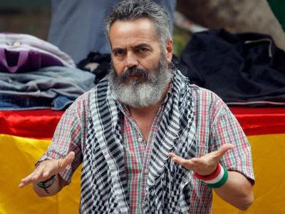 El alcalde de Marinaleda, Juan Manuel Sánchez Gordillo. EFE