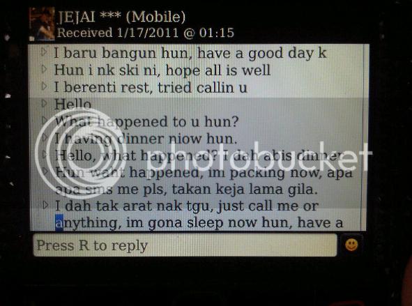 Screenshot2011 01 27at111608AM Gambar: Fasha Sandha Tunjuk Bukti Masih Berhubung Dengan Jejai