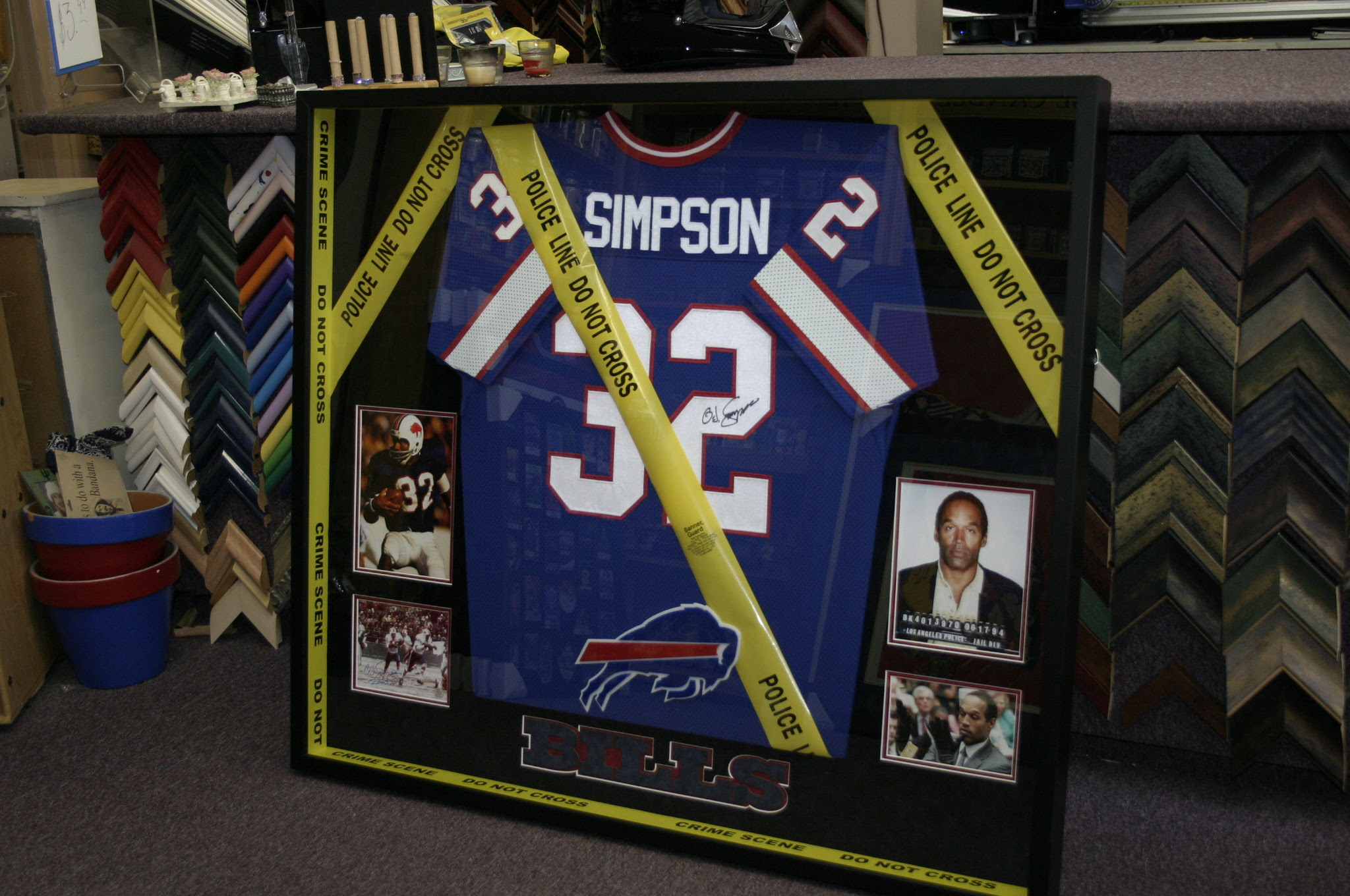 The Go To Custom Jersey Frame Shop For Houstons Professional Sports