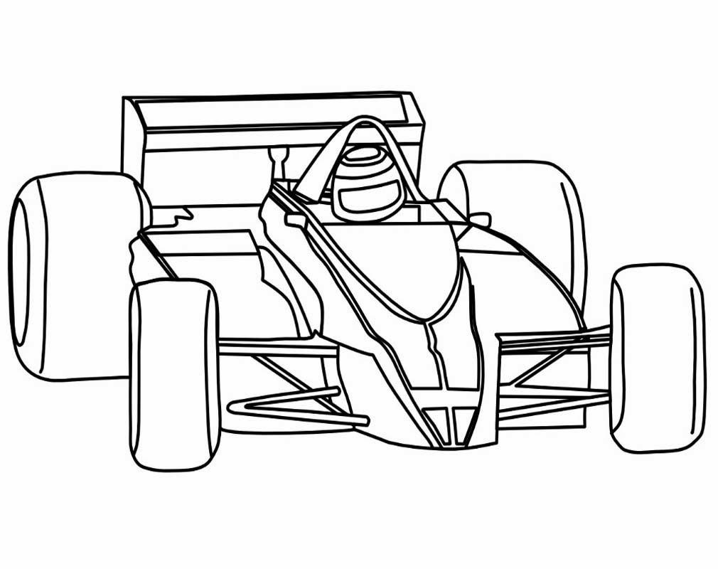 Sketsa Mewarnai Gambar Mobil Balap Auto Electrical Wiring Diagram
