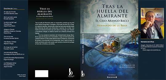 Ilustración y diseño. Tras la huella del Almirante por Hache Holguín