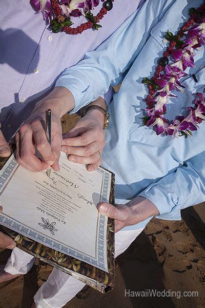 Marriage License   Gay Hawaii Wedding   Gay and Lesbian
