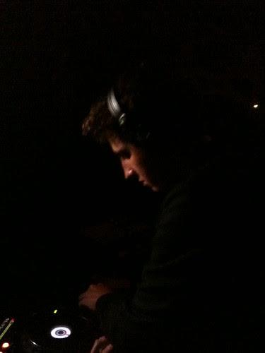 Jamie XX DJing at Voyeur, Philly