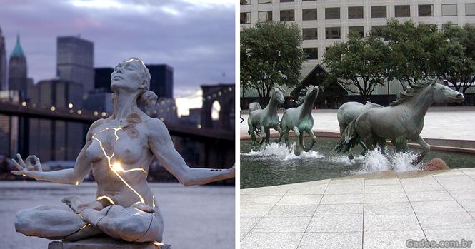 As mais fantásticas esculturas do mundo