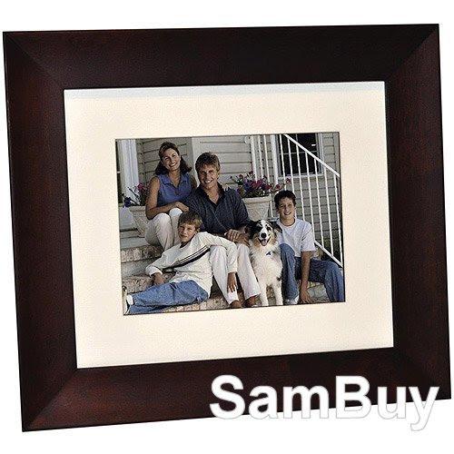 Digital Photo Frames Giinii 8 Digital Photo Frame Gn 818 Brown