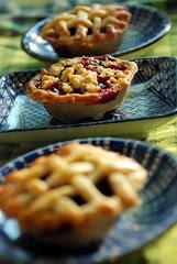 Blackberry mini pies