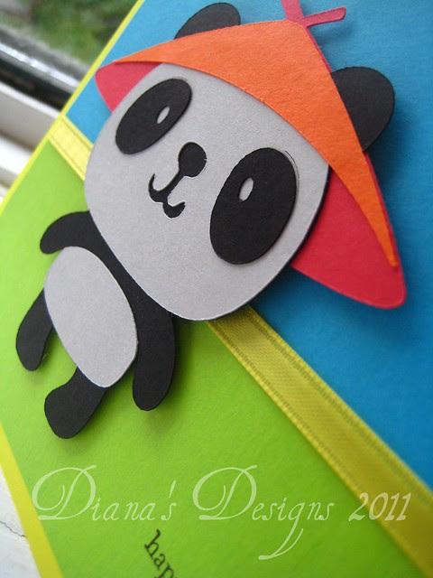 Create a Critter Panda Card