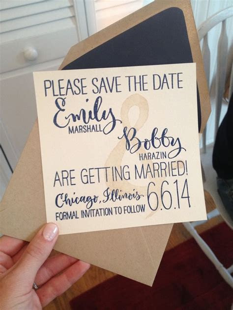 38 Creative Save the Date Card Examples   I do   Wedding