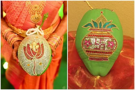 #Trending: Embellished Coconuts at South Indian Weddings