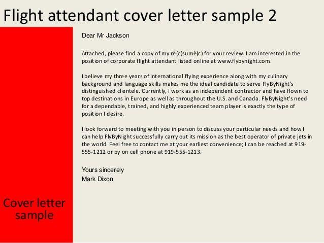 flight attendant cover letter 3 638