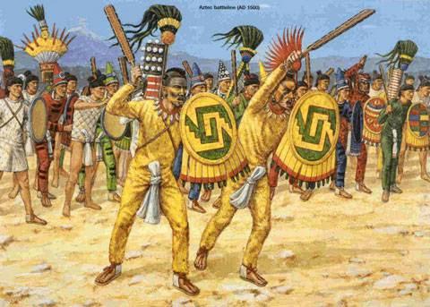 <br>HISTOIRE de l'ANCIEN MEXIQUE.<br>Le début de l'invasion de l'Anáhuac III