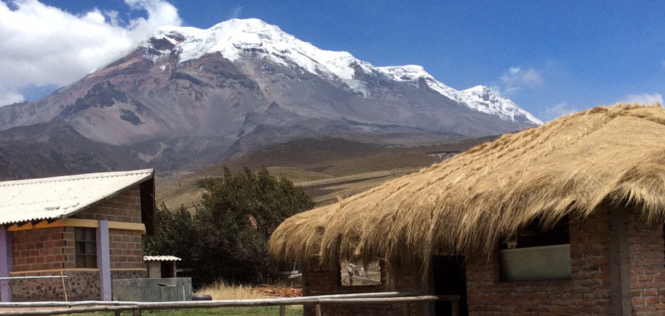Chimborazo from The Condor Camp