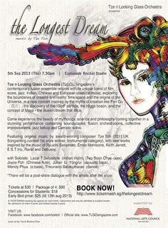 The Longest Dream - 2013 concert poster