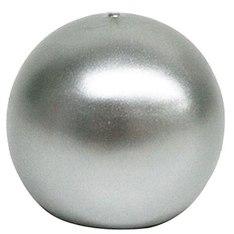 3inch silver ball candle, bulk ball candle,cheap silver candle