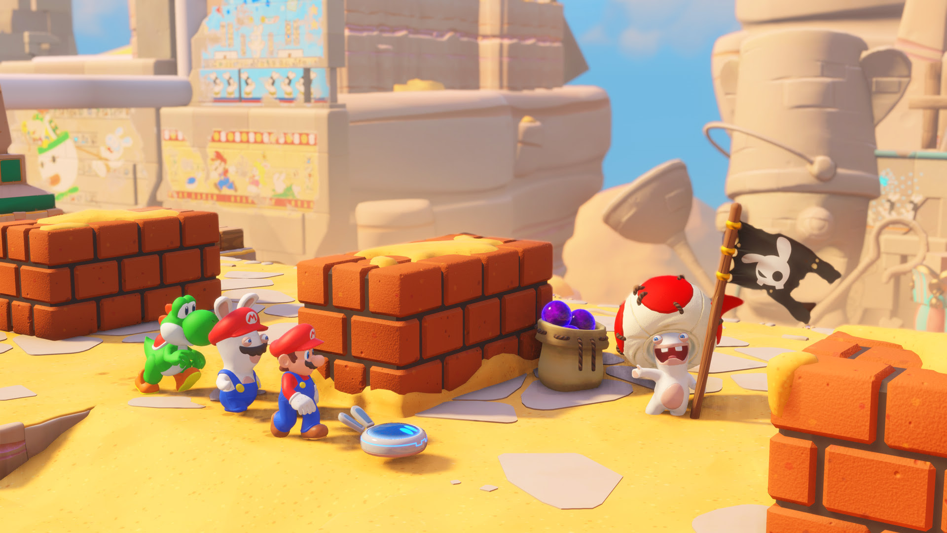 I played Mario + Rabbids Kingdom Battle for a few hours and it rules screenshot