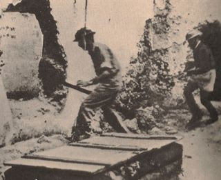 Irgun troops attack palestinian jaffa_1948