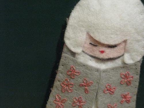 White Kokeshi (detail)