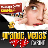 Grande Vegas Casino Message Center Advent Calendar Has Begun Giving Holiday Treats