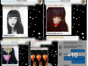 Fotos de Calincka foram usadas fora do contexto que ela publicou em redes sociais (Foto: Reprodução/Facebook)