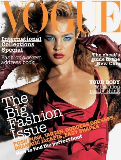 Vogue - Natalia Vodianova - September, 2003
