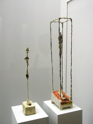 Alberto Giacometti 'Femme debout' (Standing Woman), 1961, 'Figurine dans une cage' (Figure in a Cage)