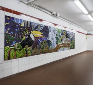 Murales Del Subte De Buenos Aires