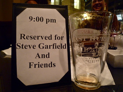 Reserved for Steve Garfield and Friends