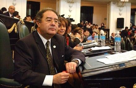 El exdiputado priista Manuel Jiménez Guzmán. Foto: Benjamin Flores